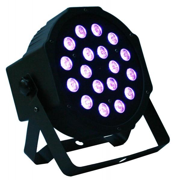EL153801 E-Lektron PAR-18 RGB-LED Scheinwerfer DMX Strahler