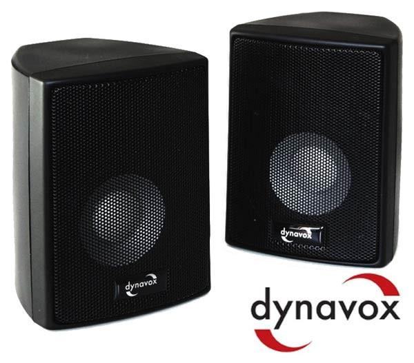 EL100031 Dynavox AS-301 Satelliten Lautsprecher Paar