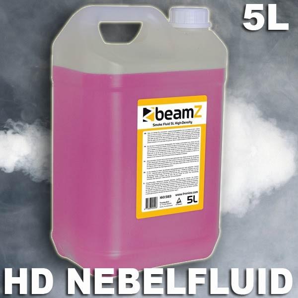 EL160583 Beamz FSMF5H HD-Nebelfluid (P) auf Wasserbasis 5L