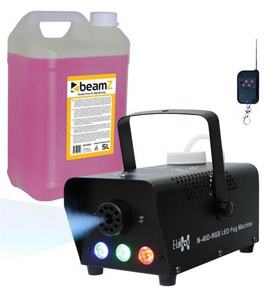 EL189039 E-Lektron N-410-RGB Nebelmaschine 400W inkl. 5L Nebelfluid