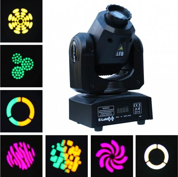 EL153804 E-Lektron M004-30 LED Moving Head Scheinwerfer DMX