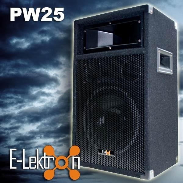 EL179764 E-Lektron PW25 DJ PA Lautsprecher passiv