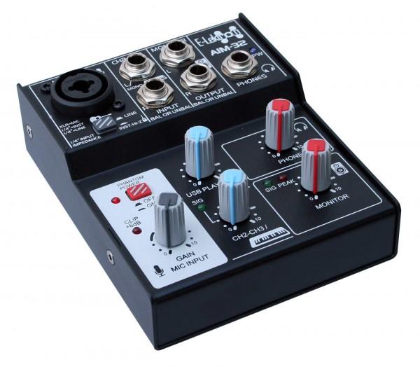EL172601 E-Lektron AIM-32 Audio Mixer USB-Interface