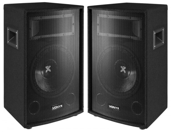 EL278730 Vonyx SL10 / 25cm DJ PA Lautsprecher Paar