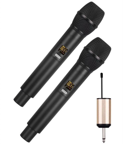 EL173750 E-Lektron U-2 universal 2x Funkmikrofon Satz UHF